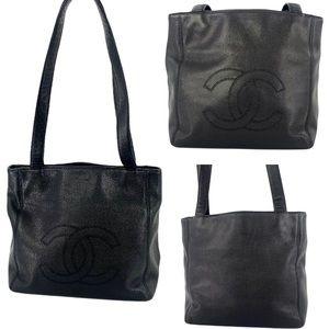 Chanel Shoulder Tote Handbag Mint Condition